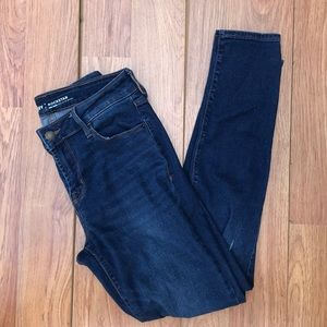 Old Navy Sz 6 Mid-Rise Skinny Fit Blue Jeans